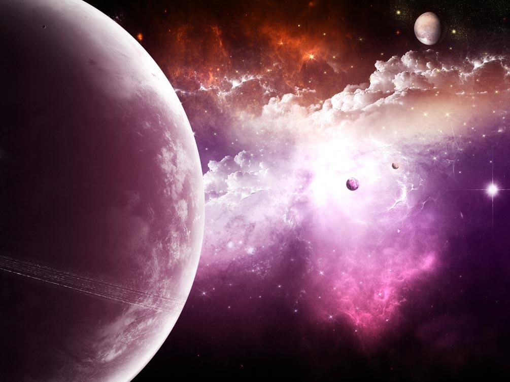 Фотообои Планеты в космосе