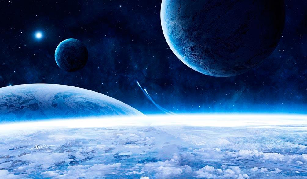 Фотообои Космос, горизонт