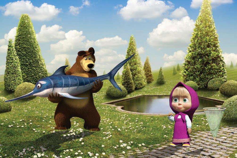 днем рождения маша и медведь фотообои хорошее разрешение лечебные спа-процедуры