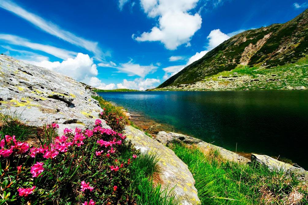 Фотообои Вода в горах