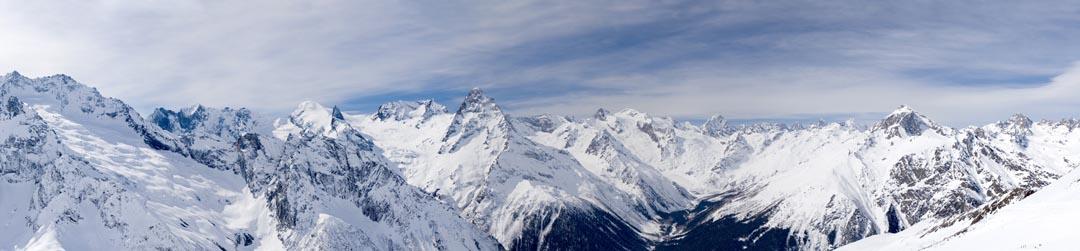 Фотообои снежные горы