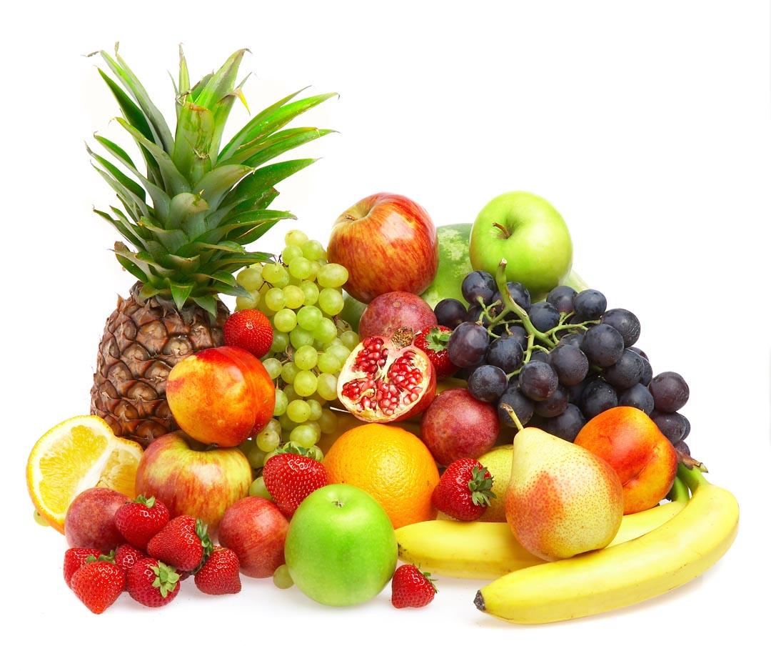 Фотообои куча фруктов