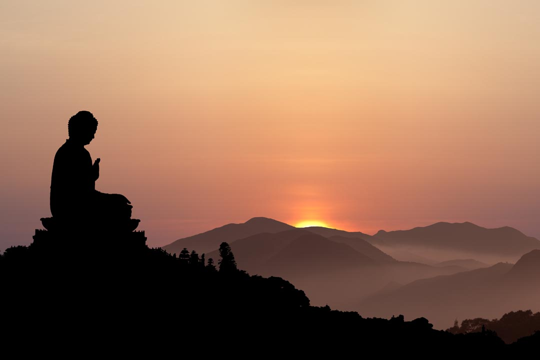 Фотообои Азия закат