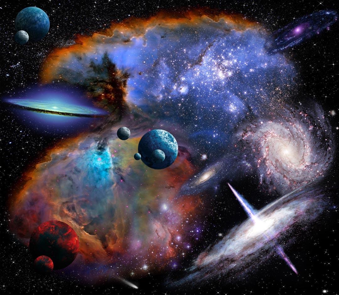 Фотообои галактики