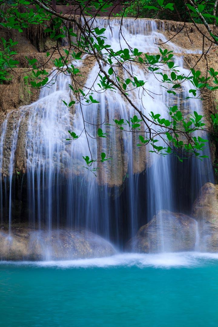 Фотообои белый водопад