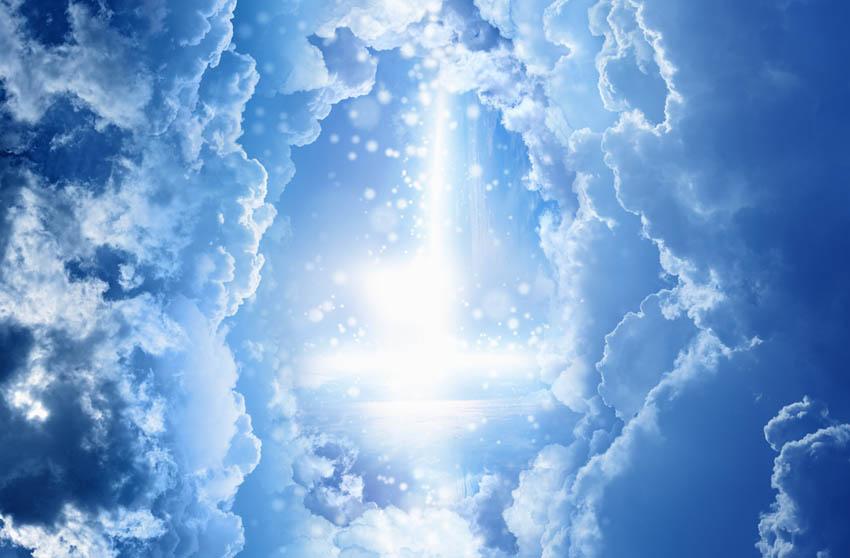 Фотообои Небо для потолка