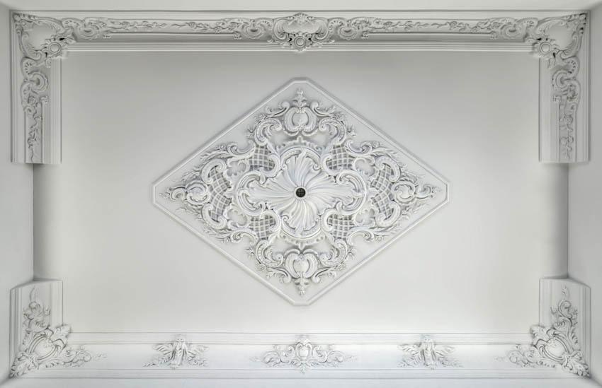 Фотообои Лепка для потолка