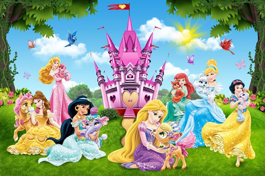 Фотообои Принцессы Диснея