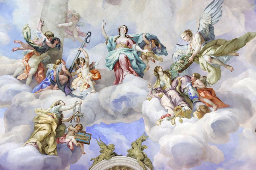 Фотообои Винтажная фреска