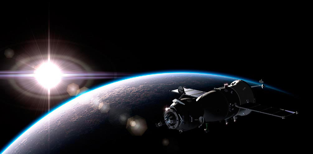 Фотообои Спутник и планеты