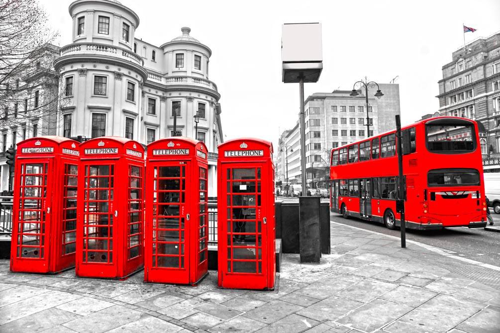 Фотообои Лондон на стену - Купить в интернет-магазине Oboi-dekor