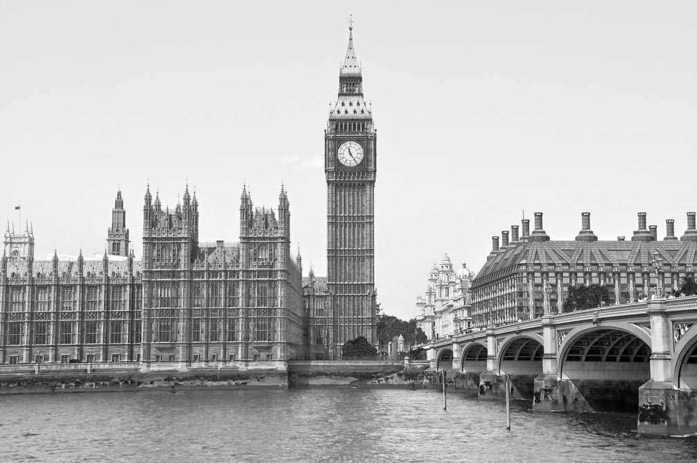 Фотообои  Лондонский Биг-Бен