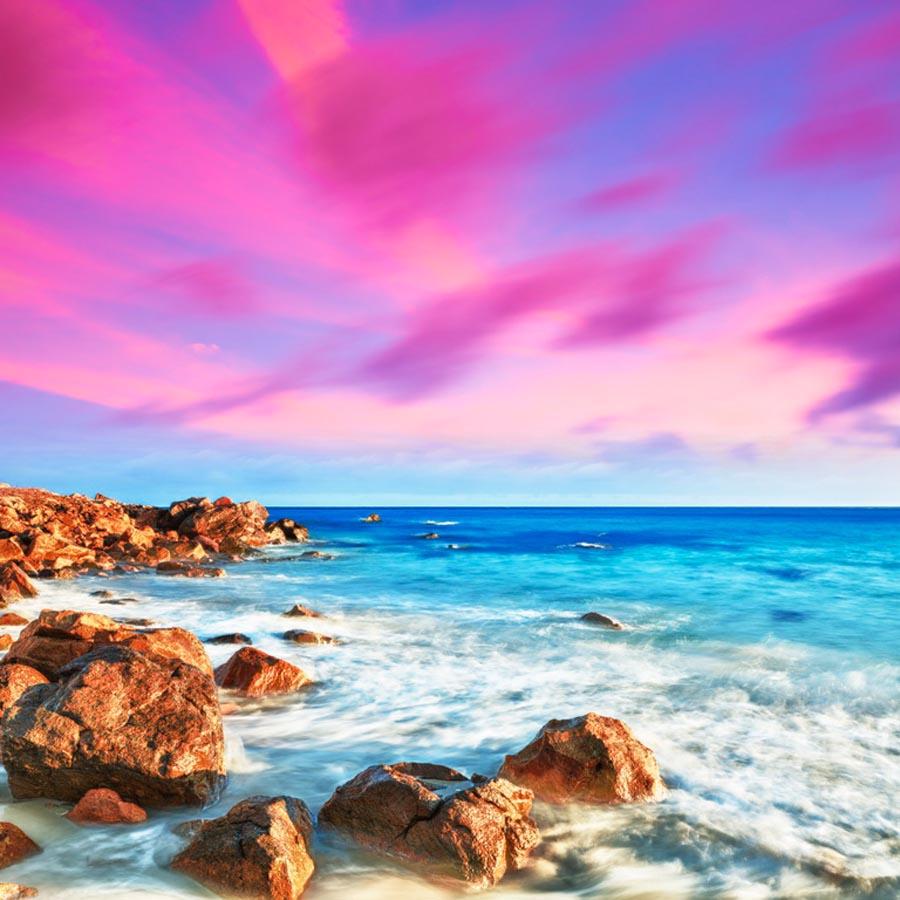 Фотообои Морской берег, камни