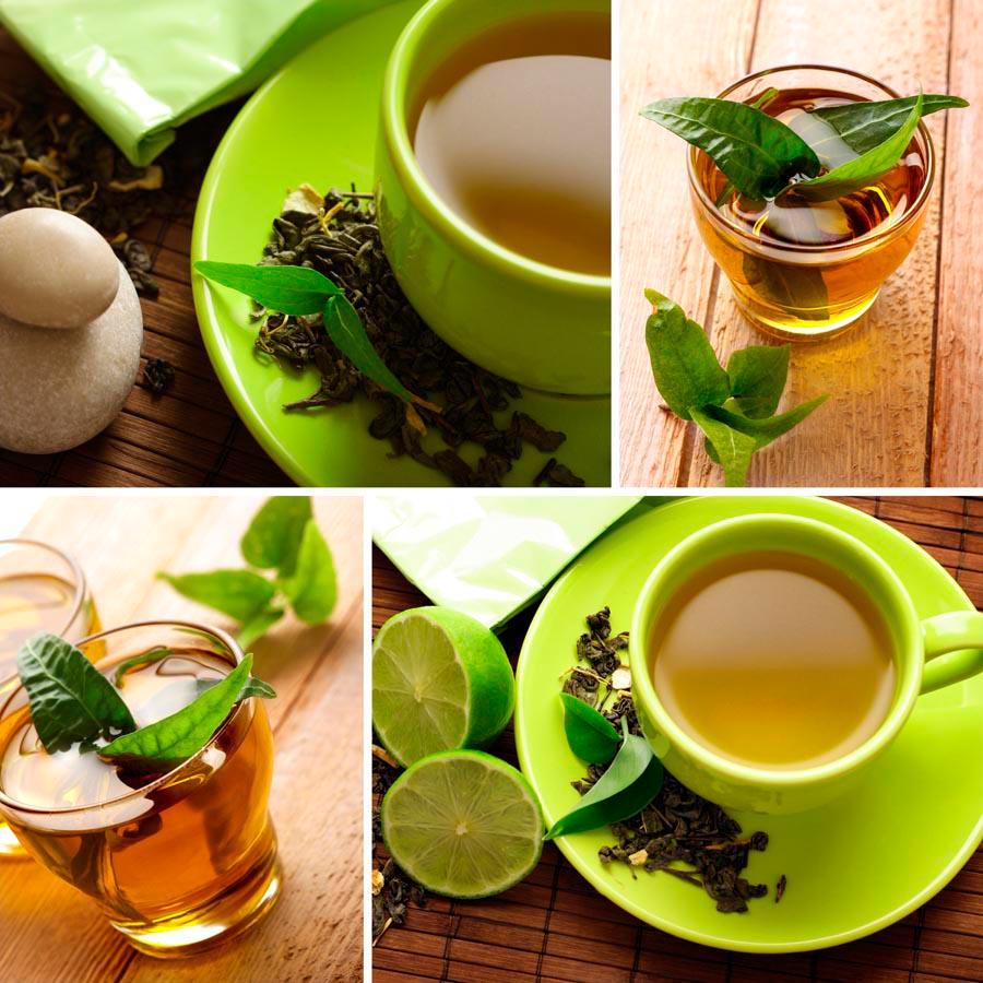 Фотообои Зелёный чай