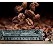 Фотообои горсть кофе