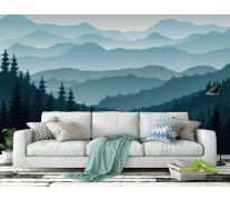 Фотообои Горы и лес