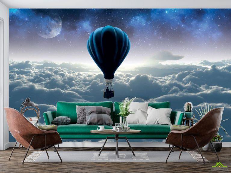 3д фотообои Воздушный шар
