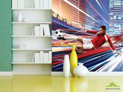 Фотообои Спорт по выгодной цене Фотообои Футбол