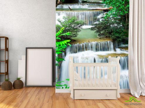 Водопад Фотообои Много водопадов купить