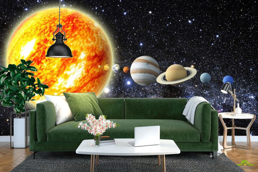 Фотообои Планеты солнечной системы