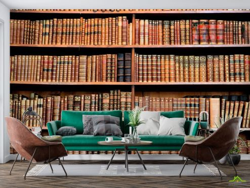 Книги Фотообои Книги