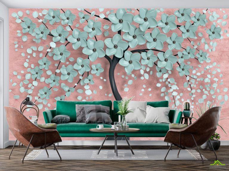 Фотообои Мятное дерево