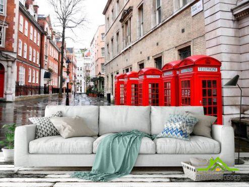 Лондон Фотообои Улица в Лондоне
