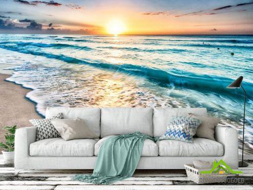 Фотообои Море по выгодной цене Фотообои Море на закате