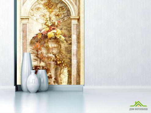 Фрески Фотообои Красивая арка