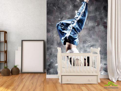 обои Спорт Фотообои парень танцор