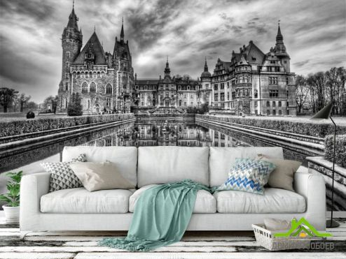 обои Замок Фотообои Готичный замок