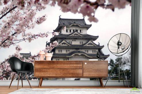 Фотообои по стилю по выгодной цене Фотообои Японская пагода
