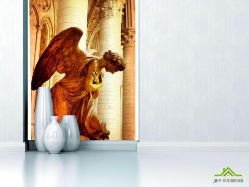 Дворцы и соборы Фотообои Ангел
