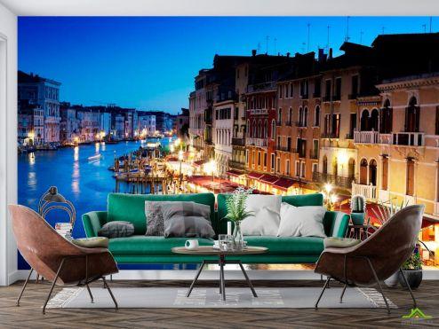 Венеция Фотообои Кафе у воды, Венеция