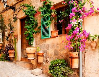 Фотообои старинные улицы