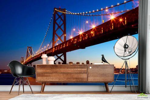 Бруклинский мост Фотообои Мост Бруклинский