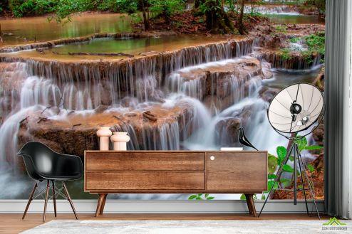 Водопад Фотообои Каскад, вода