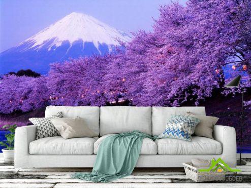 обои Горы Фотообои Гора, цвет
