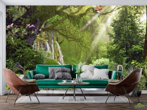 Фотообои Природа по выгодной цене Фотообои 3д водопад