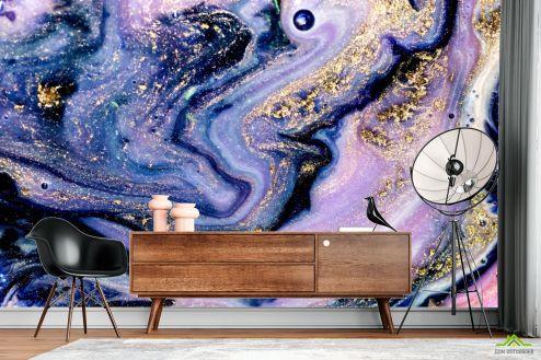 Fluid art Фотообои Фиолетовый Fluid art