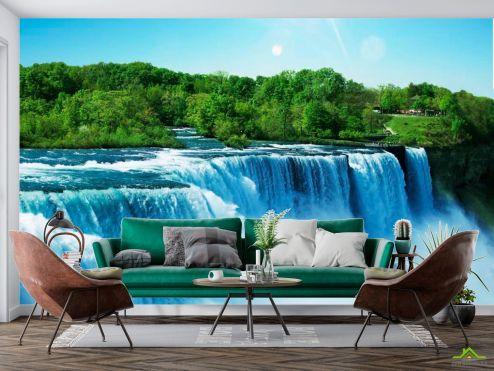 Природа Фотообои Водопад