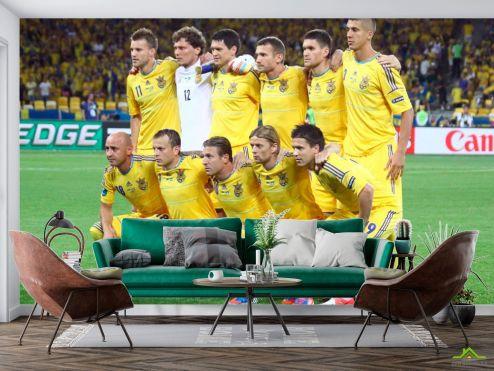 Спорт Фотообои Футбольная Сборная Украины