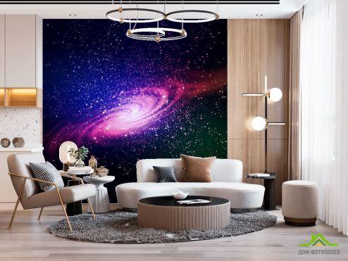 Космос Фотообои Созвездия в космосе