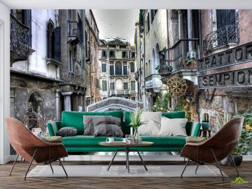 Венеция Фотообои Улочка в Венеции