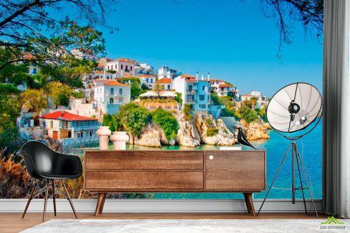 Греция Фотообои Городок в Греции