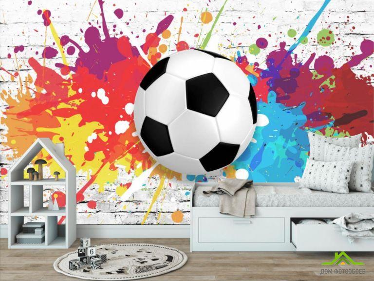 Фотообои Яркий мяч