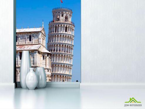 обои Италия Фотообои Пизанская башня