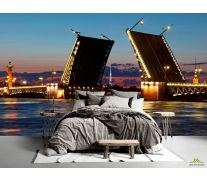 Фотообои Мост в Санкт-Петербурге