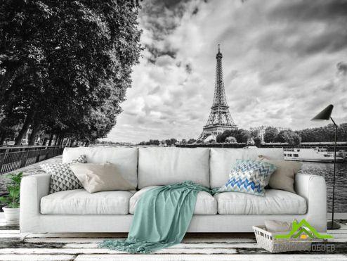 обои Старый город Фотообои Париж