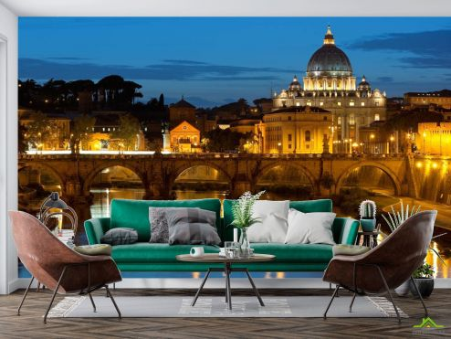 Старый город Фотообои Ватикан, Рим купить